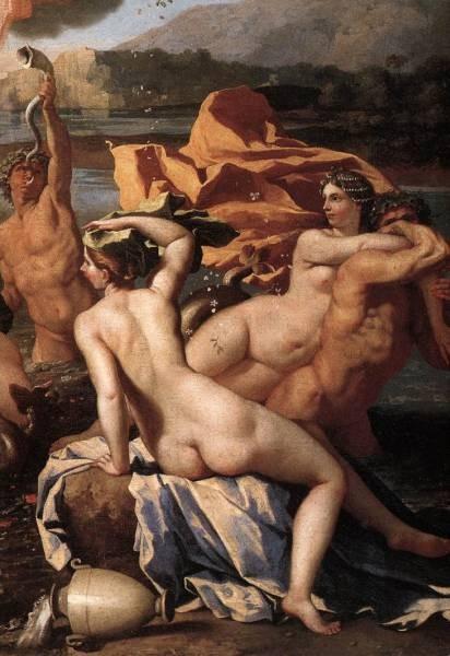 Poussin The Triumph of Neptune detail2